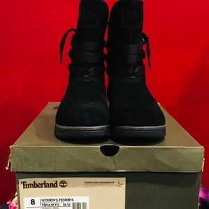 Timberland womans Leighland black pull on size 8